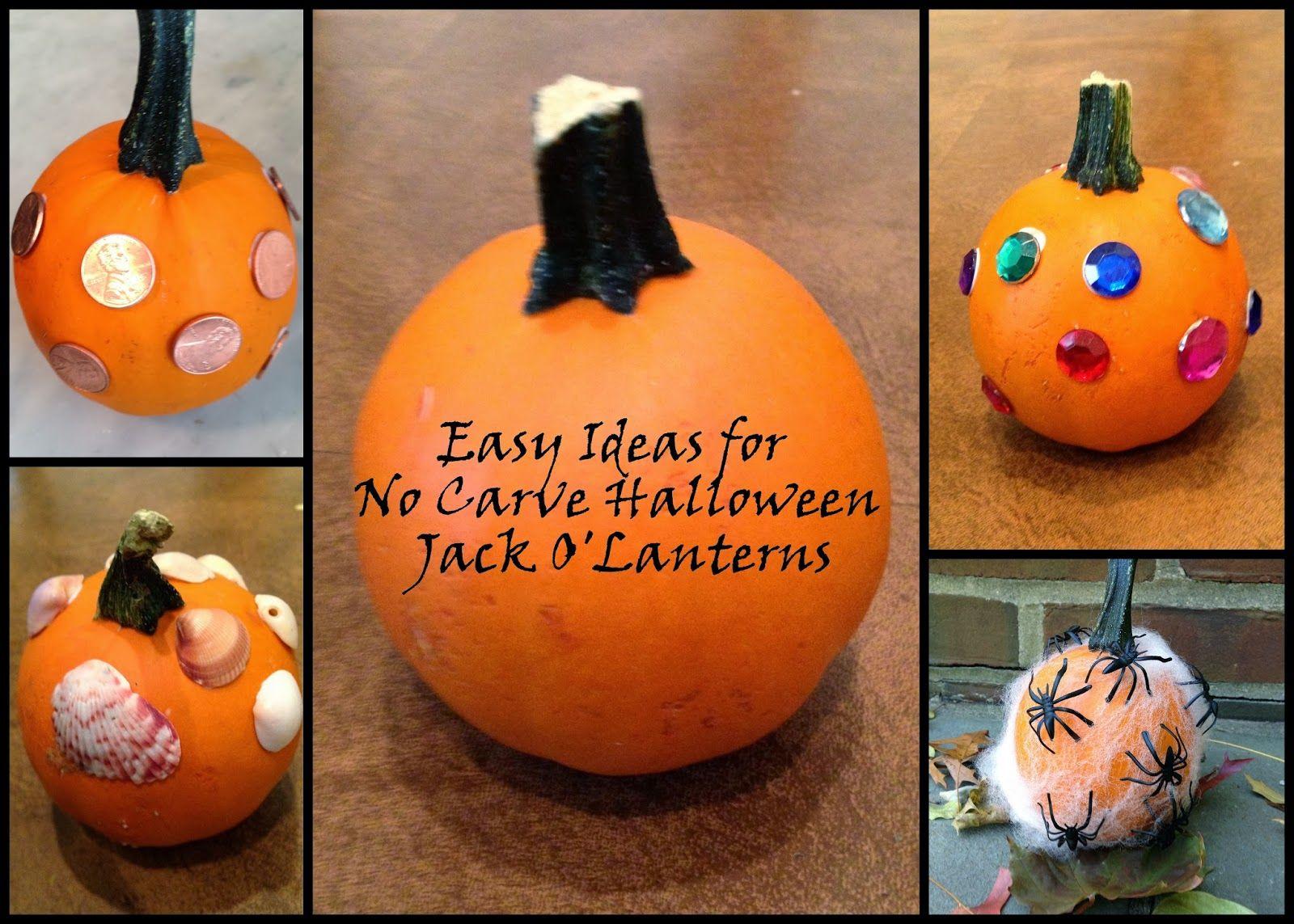 No carve pumpkin decorating ideas guru koala pumpkin