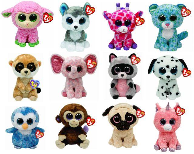 40a9f1bada8 TY Beanie Boos 6 inch Boo Plush Teddy Cuddly Soft Toy - Choose From Many  Designs