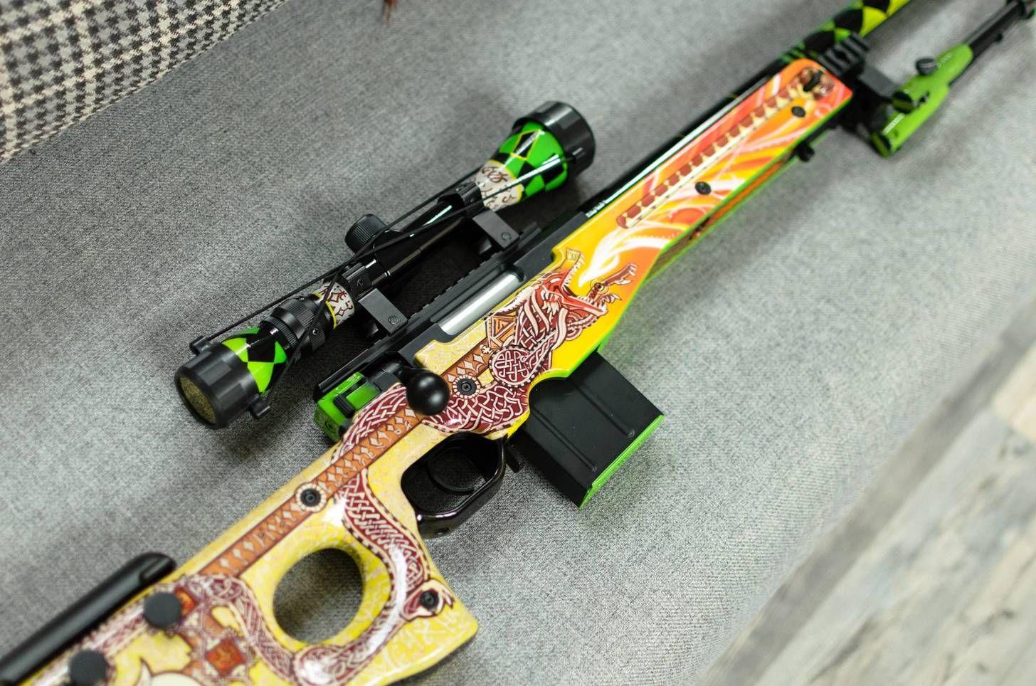 Real Dragon Lore Aka Painted Airsoft Gun Airsoft Guns Airsoft