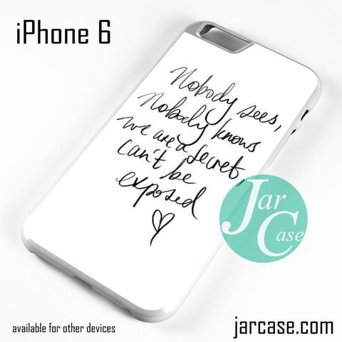Zara Larsson Lyric Phone case for iPhone 6 and other iPhone ...