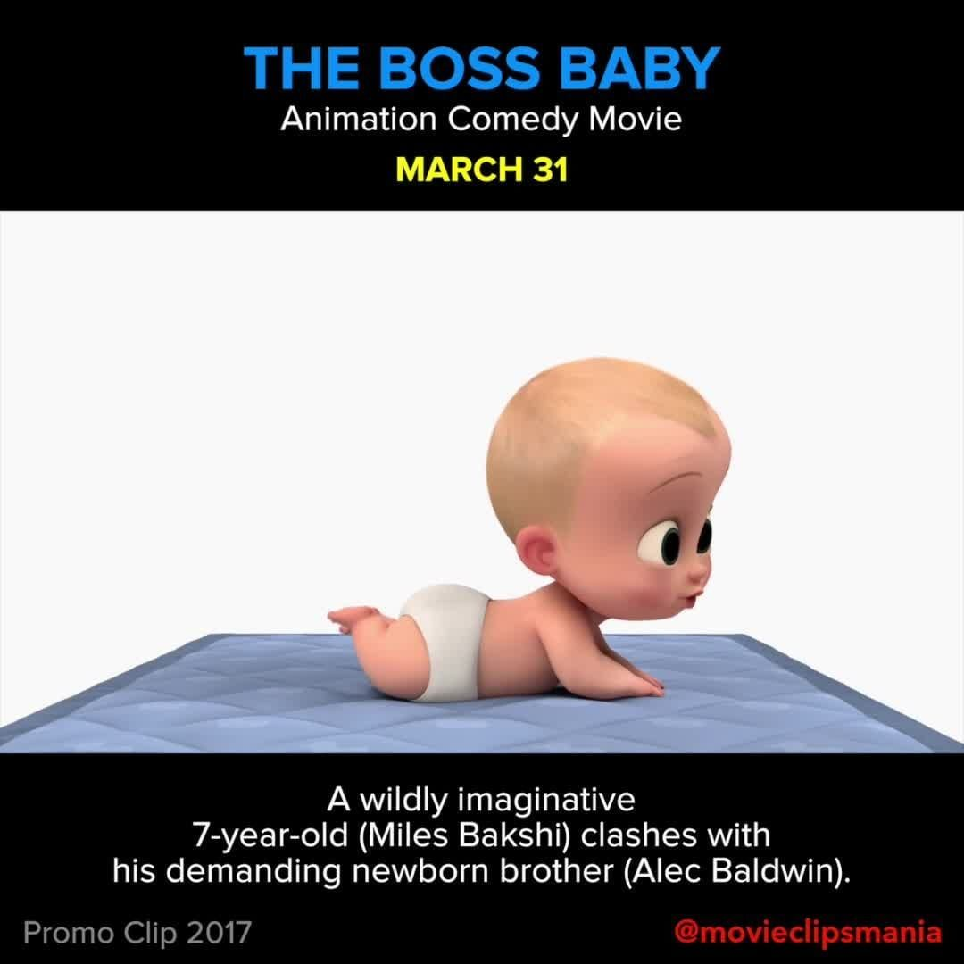 THE BOSS BABY A wildly imaginative 7yearold (Miles