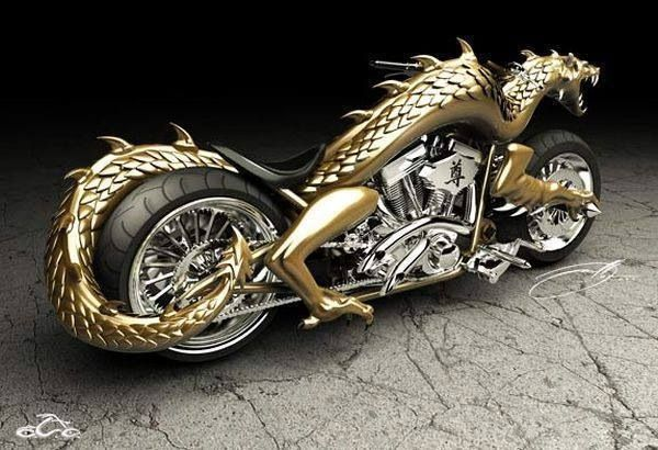 Amazing Dragon Bike Super Bikes Futuristic Motorcycle Chopper Bike
