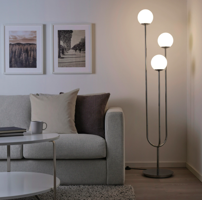 This Ikea Light Is About To Become A Huge Trend Hunker In 2020 Floor Lamp Ikea Lamp Reading Lamp Floor