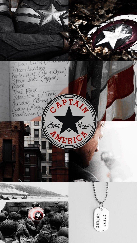 Avengers Captain America Steve Rogers Lockscreen Wallpaper