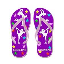 Skater Girl Flip Flops http://www.zazzle.com/mysportsstar/gifts?cg=196621838645756107&rf=238246180177746410 #Ilovefigureskating #Iceprincess #Figureskater #IceQueen #Iceskate #Skatinggifts #Iloveskating #Borntoskate #Figureskatinggifts #PersonalizedSkater