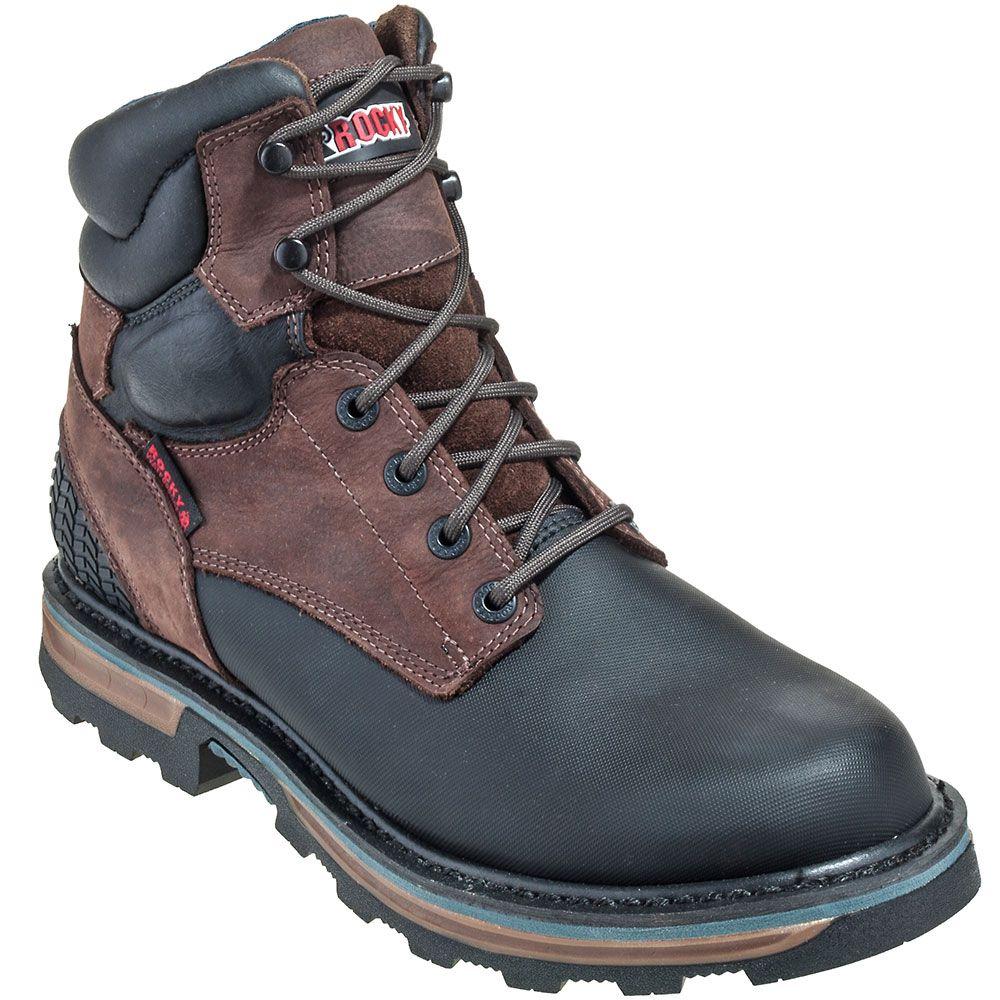 7e732de4d82 Rocky Boots K089 Mens Waterproof Goodyear Welt Elements Work Boots ...