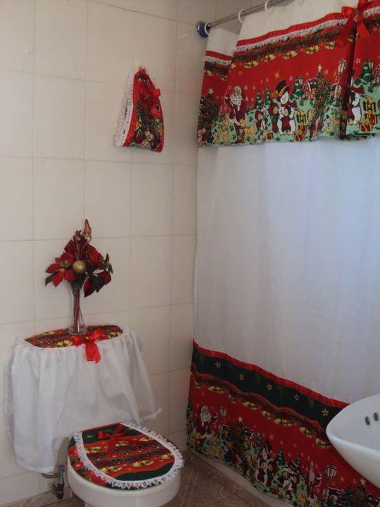 Creaciones Maria Silvia Cortinas de Navidad cortinas para cocina