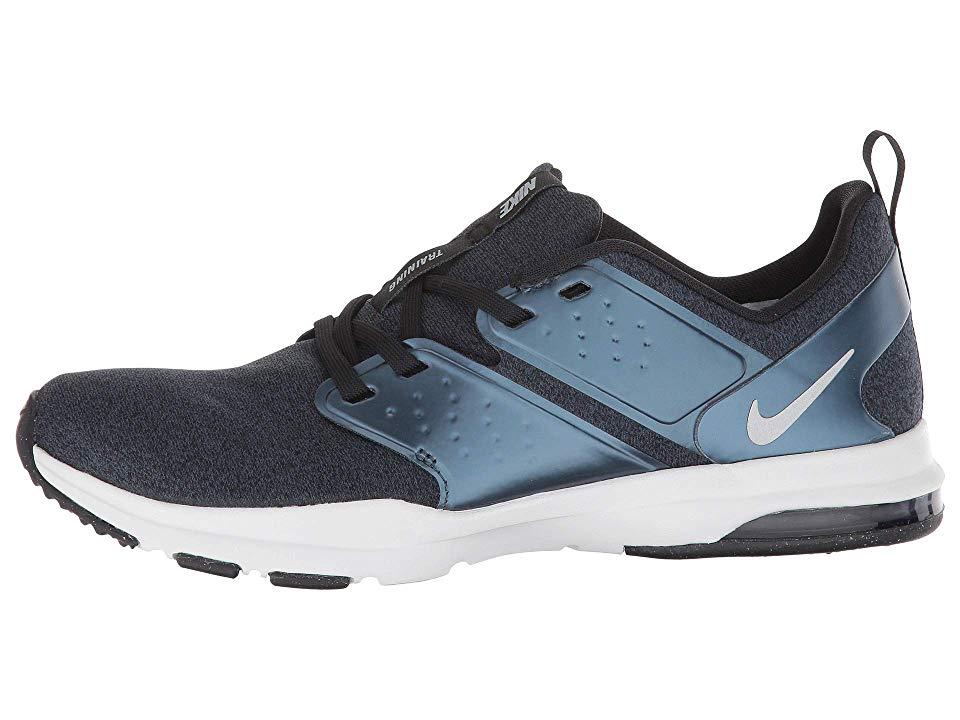 4bbf5490819daf Nike Air Bella TR Premium Women s Cross Training Shoes Black Metallic  Silver Armory Navy