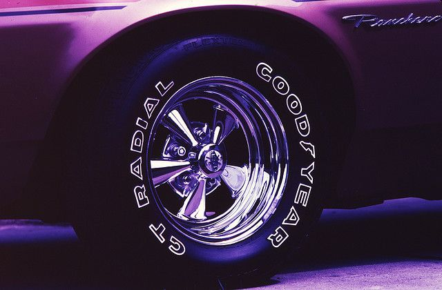 Ford, Cragar, and Goodyear | My Style | Chrome wheels