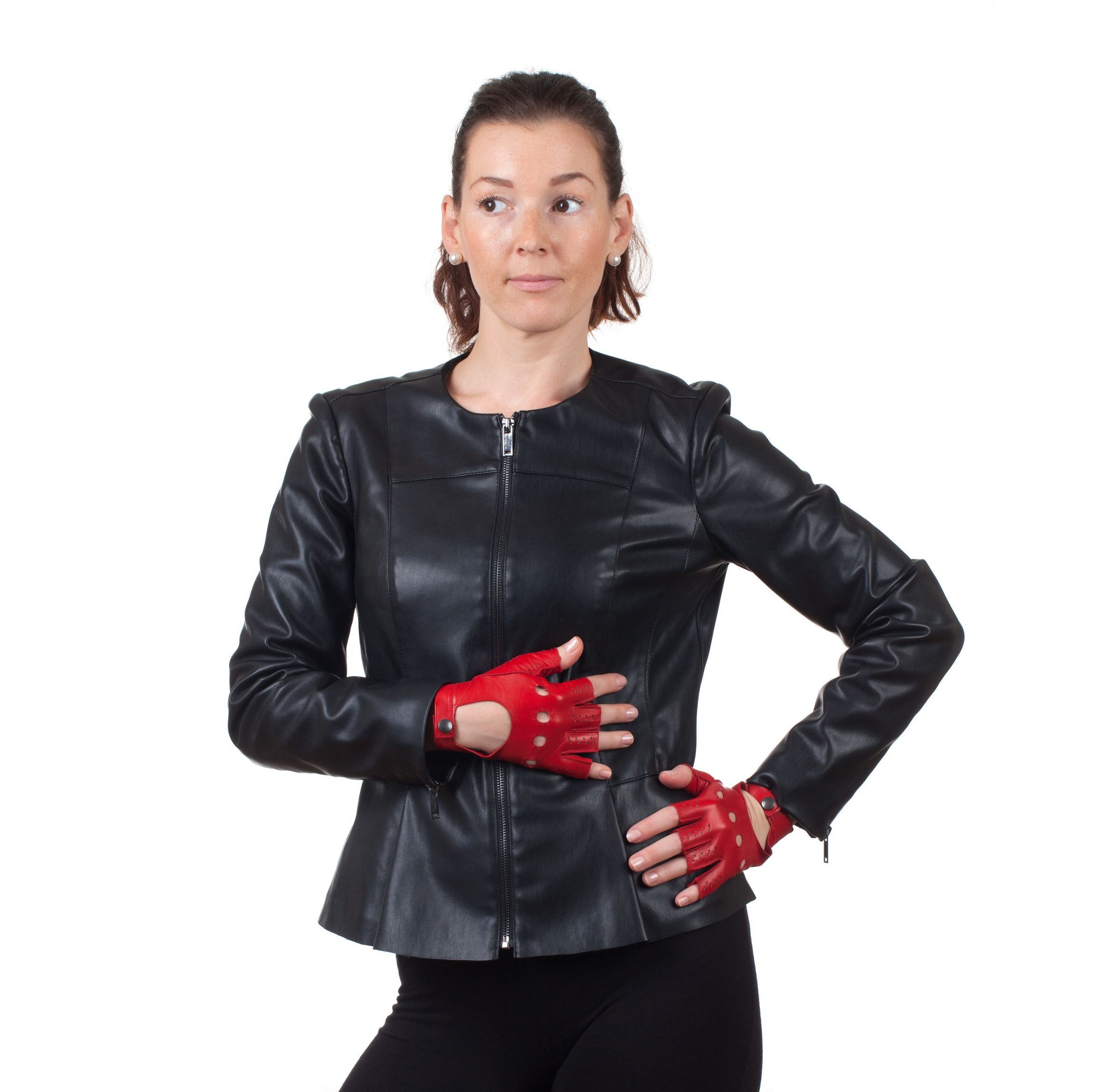 Ladies unlined leather driving gloves - Drive In Style With Our Italian Leather Driving Gloves Unlined Soft And Fingerless They Create Ultimate Comfort With Ease Of Wear