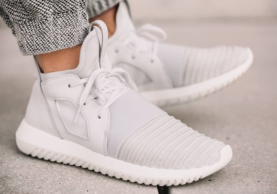 adidas Tubular Defiant Woven Knit Uppers | What's Crackin
