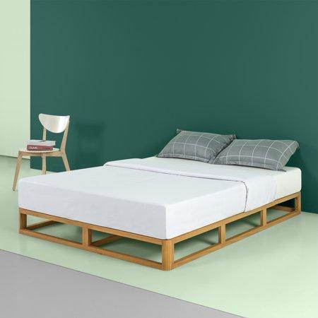 Zinus Platforma 8 Inch Wood Bed Frame Mattress Foundation Queen
