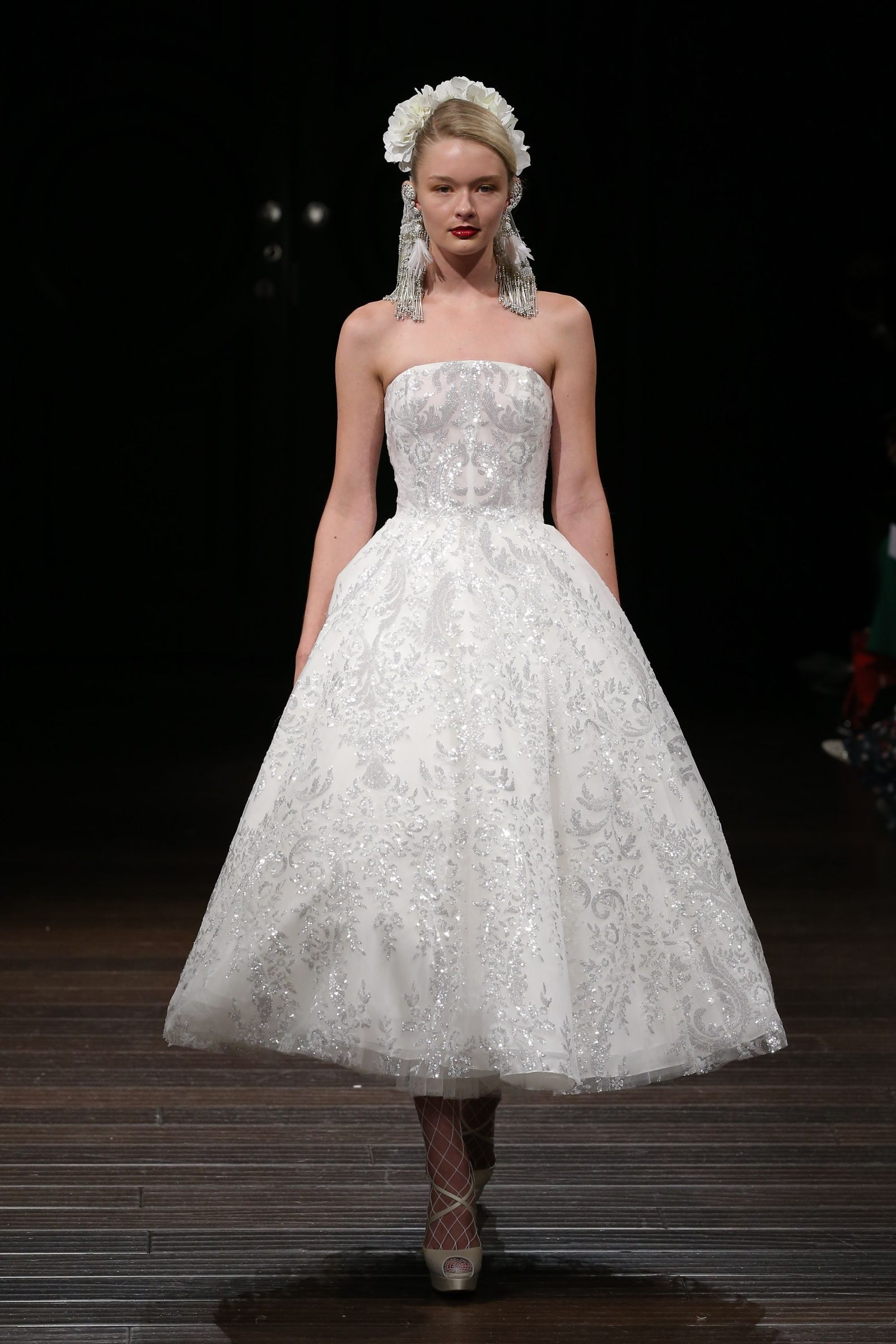 The best short wedding dresses from fall bridal week classic