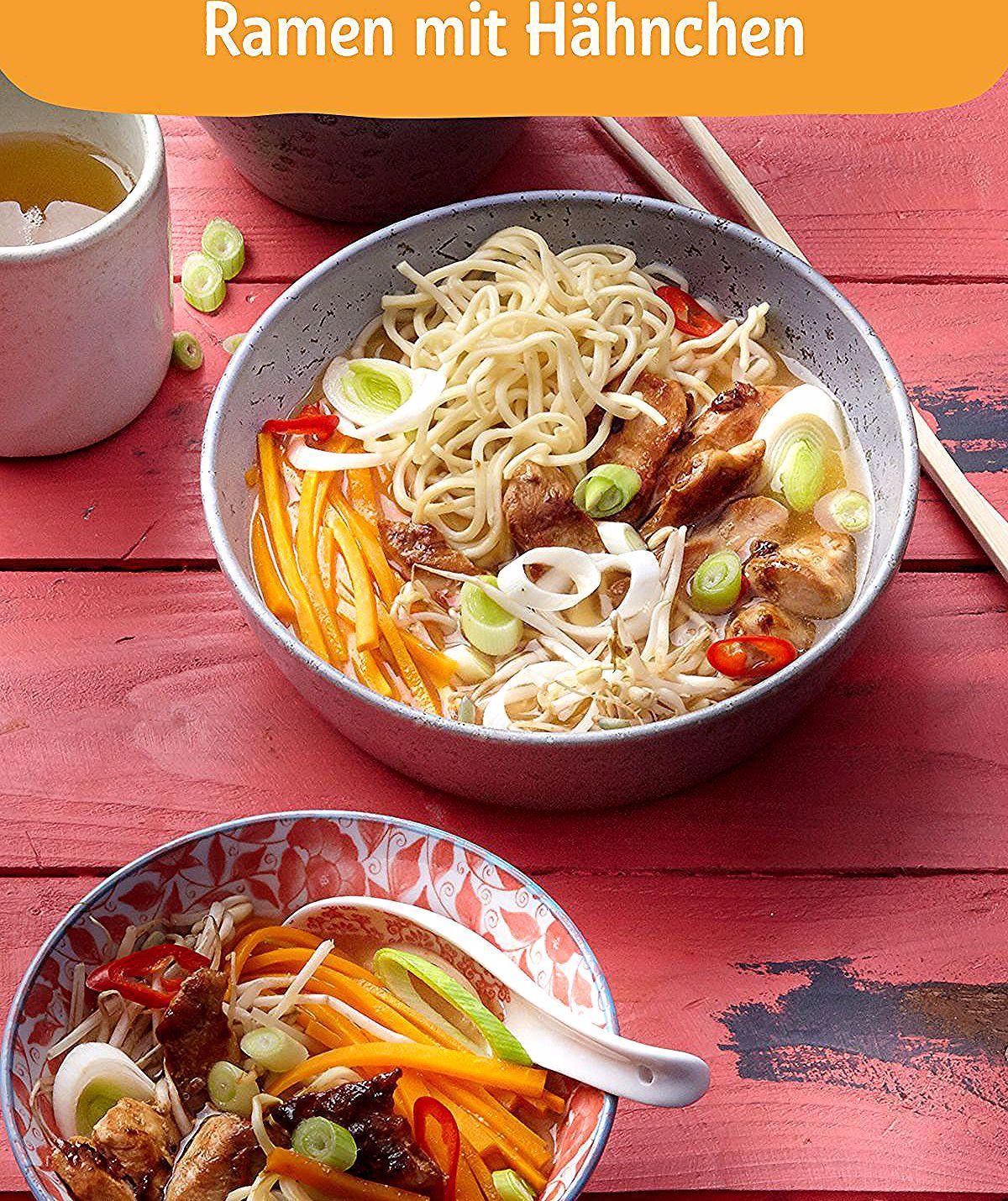 Ramen ist in Japan eine Art Nationalgericht. Die Rezepte sind regional geprägt, daher schmeckt die a...
