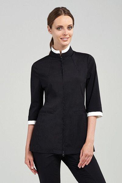 Women tunics all in 2019 spa uniform hotel uniform for White spa uniform uk