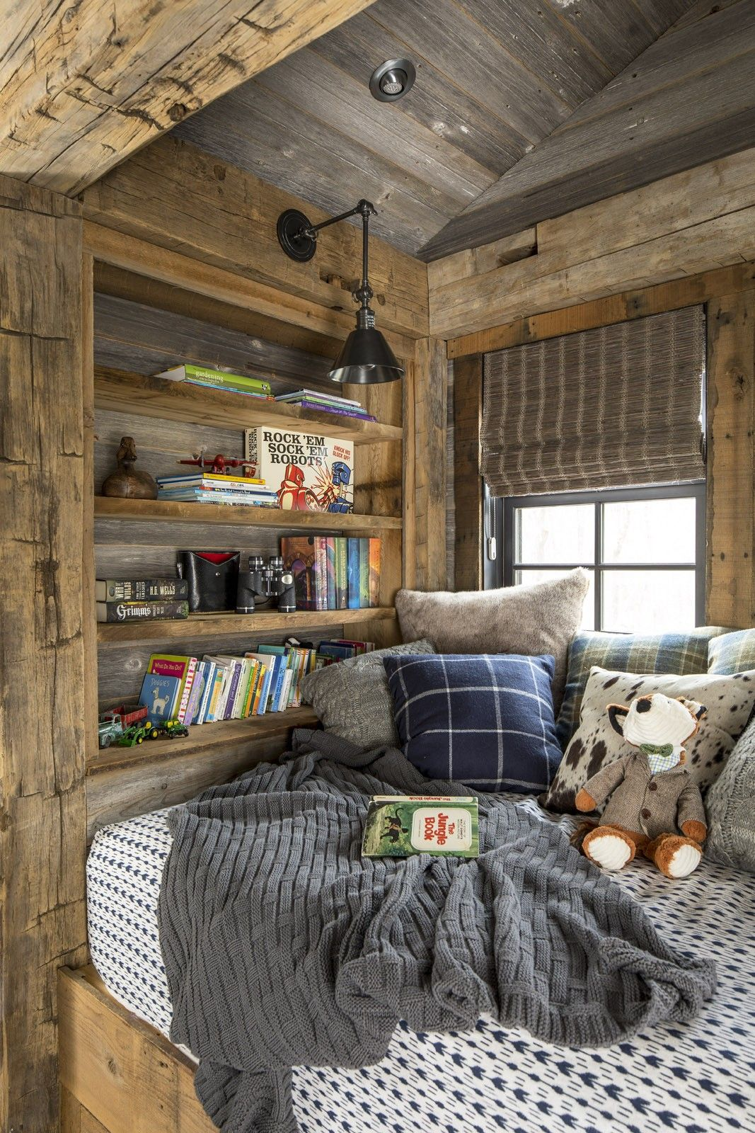 Rustic Lake House Design Luck Wi Rustic Kids Rooms