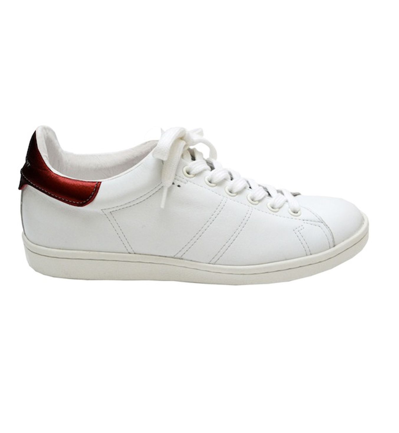 Isabel Marant's version of the Stan Smith - more on this: http://www.camilleovertherainbow.com/2014/04/the-fine-art-of-imitation.html
