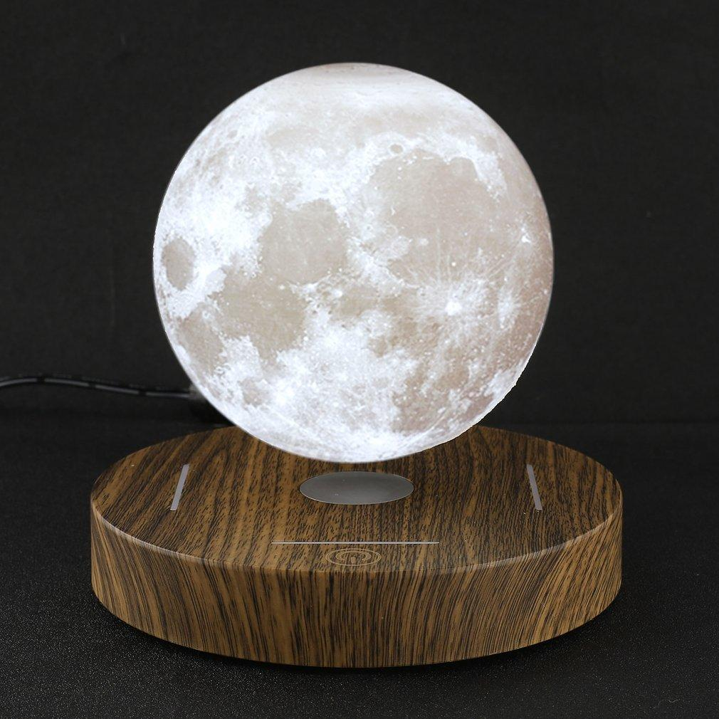 Levitating 3d Printed Moon Lamp 10 De