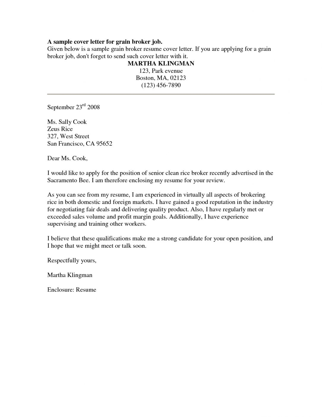 free cover letter for cosmetology student
