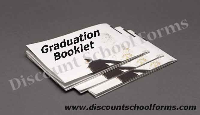 to create interactive online graduation booklets printing out of