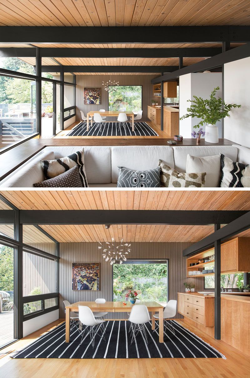 Before After Hillside Mid Century By Shed Architecture