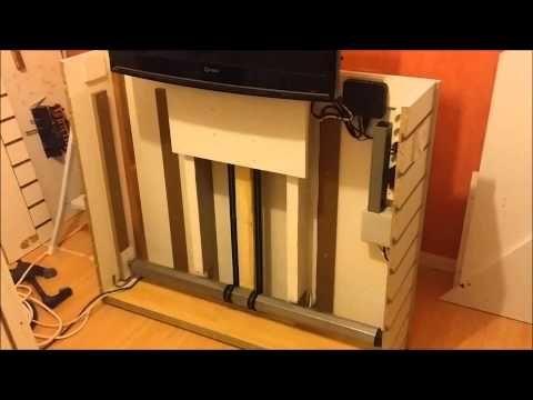 meuble tv lift youtube