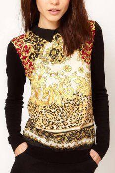 Revers shirt fashion à glissière