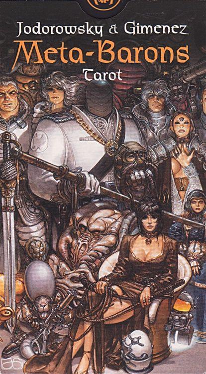 Meta Barons Tarot Deck Bande Dessinee Guerriere Mercenaire