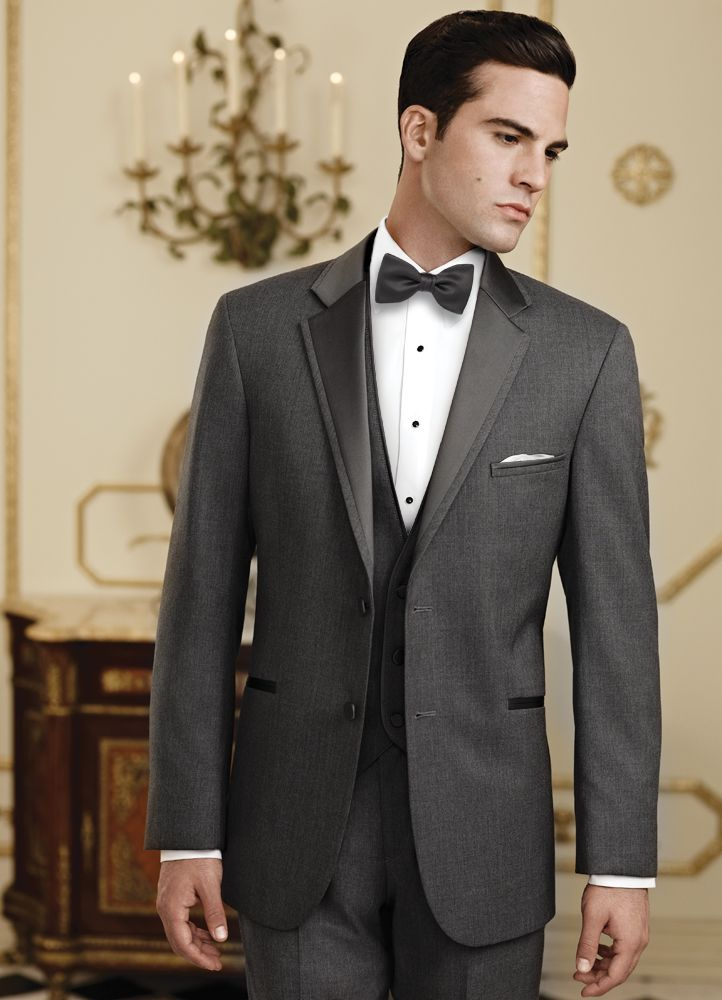 Jean Yves Steel Grey Tuxedo Rental For Grooms Proms Weddings And Quinceaneras Available At Alexanders Tuxedos In Bridgeport CT