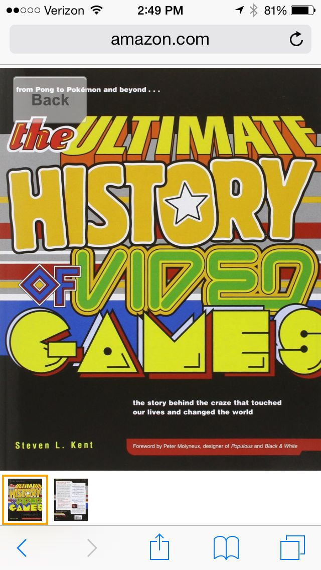 ultimate history of videogames