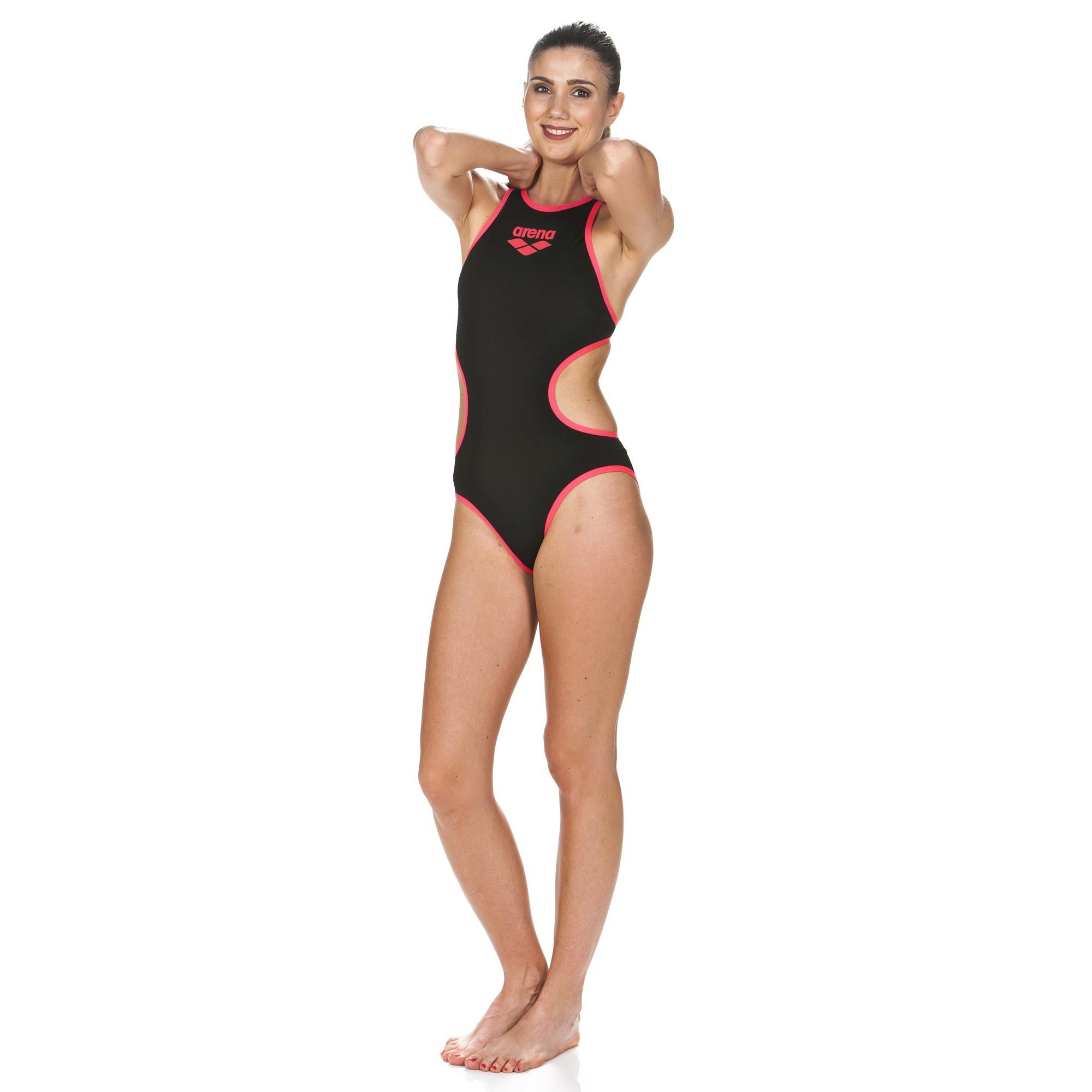 a1cdbb91d3b21 Women s Arena One Biglogo One Piece Swimsuit