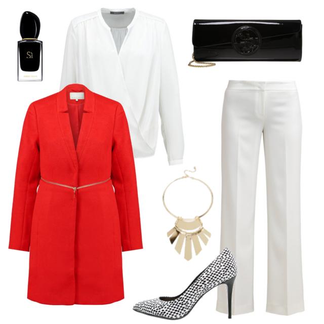 Czerwone Stylizacje Wedlug Damy Kier Yosh Fashion Polyvore Polyvore Image