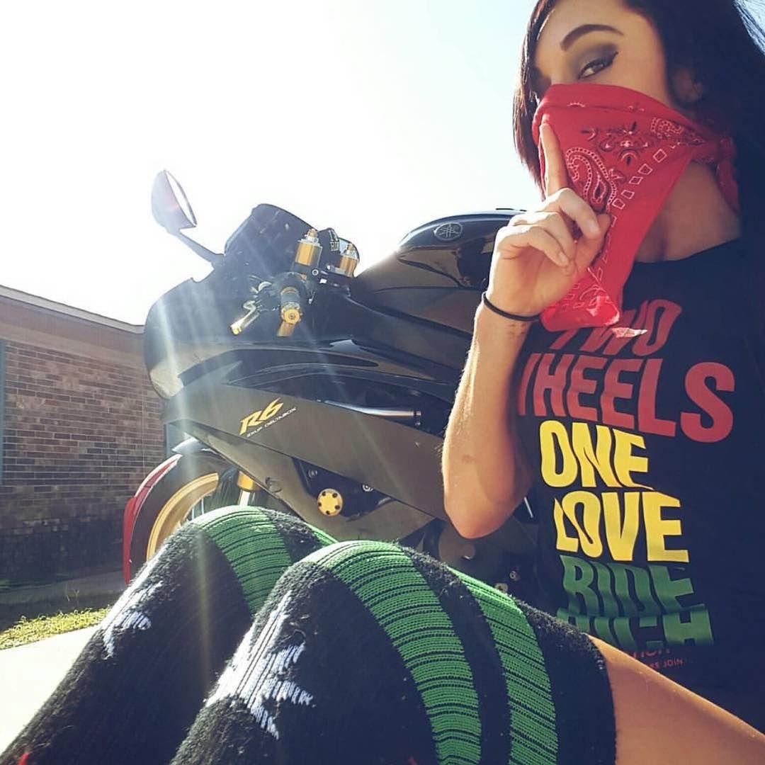 Ride Rich Riderich On Instagram Two Wheels One Love Ride Rich Jariaclutchlust Clean Shot Shop Online Riderich Com Biker Girl Riding Bikes Girls