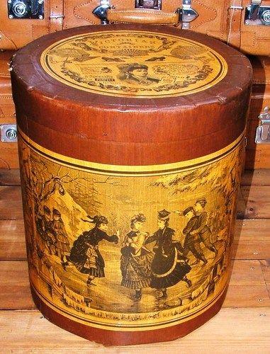An Unusual Victorian Steampunk Gothic Style Hat Box, Storage Box, Storage  Tub | EBay