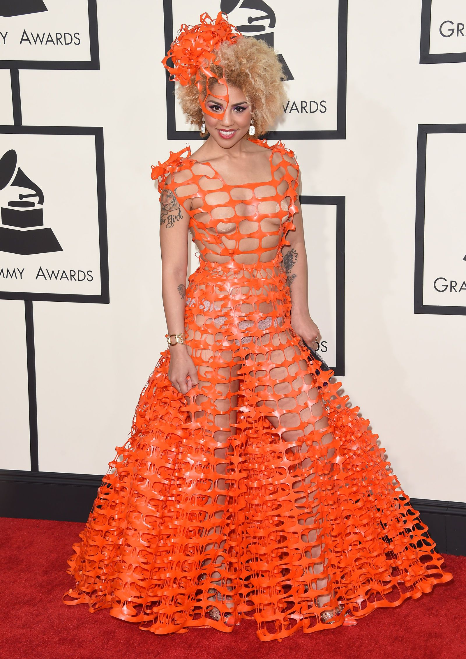 The 27 Nakedest Red Carpet Looks Of 2015  Red Carpet -6458