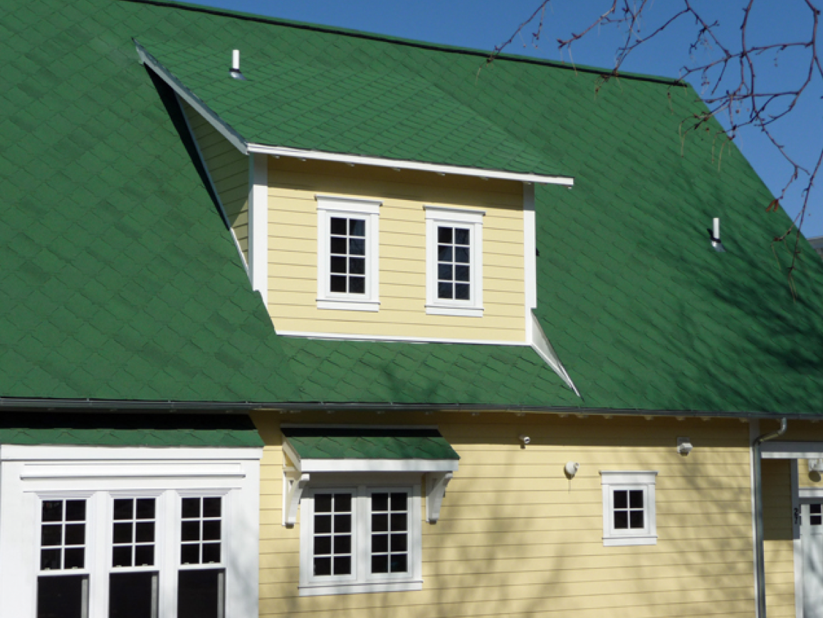 Art Loc Emerald Green Roofing Shingles Were Used In The Roof Replacement Project In Muskegon Mi House Exterior Roofing Residential Roofing