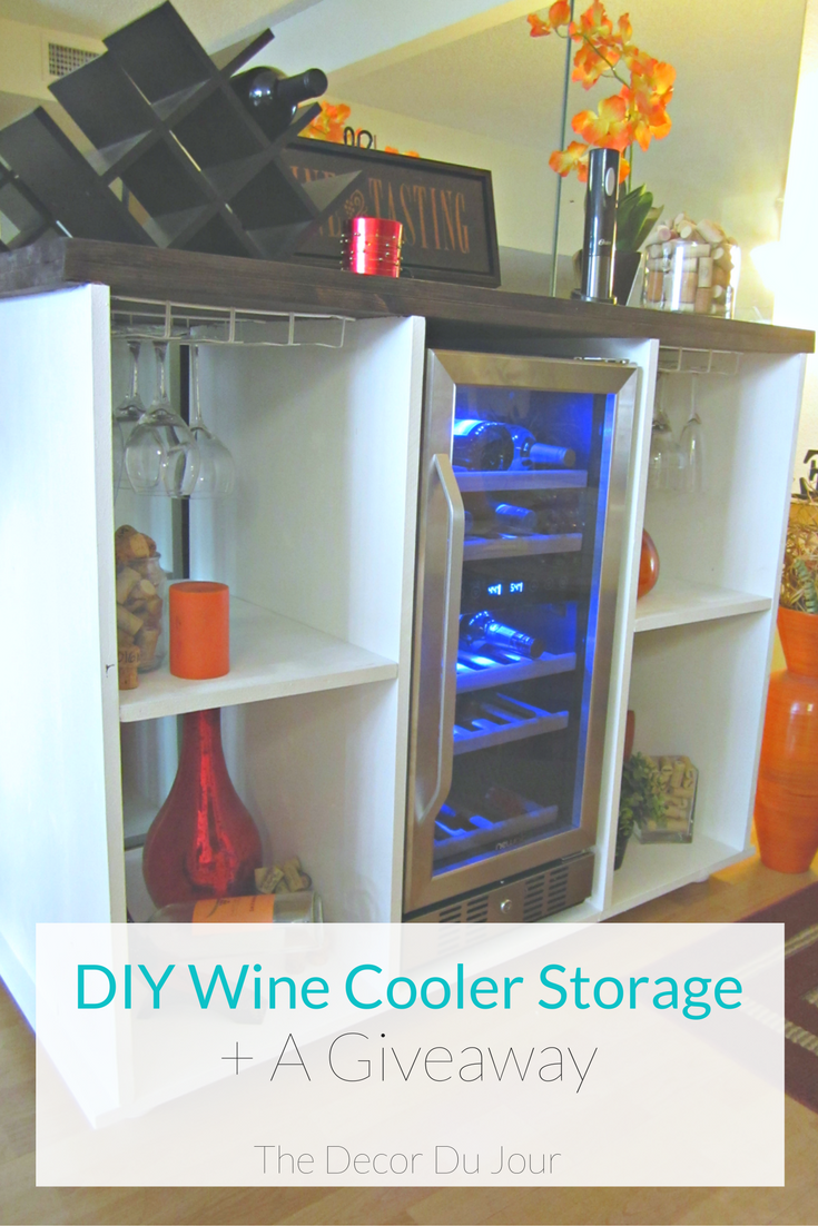 Tremendous Diy Wine Cooler Cabinet A Giveaway Social Sharing Non Best Image Libraries Sapebelowcountryjoecom