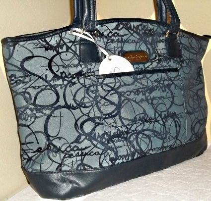 Purse Jessica Simpson NWT Signature Twister Oversized Tote Carry On Handbag  $55.99 buy now at Mersadiesheart store on #Bonanza