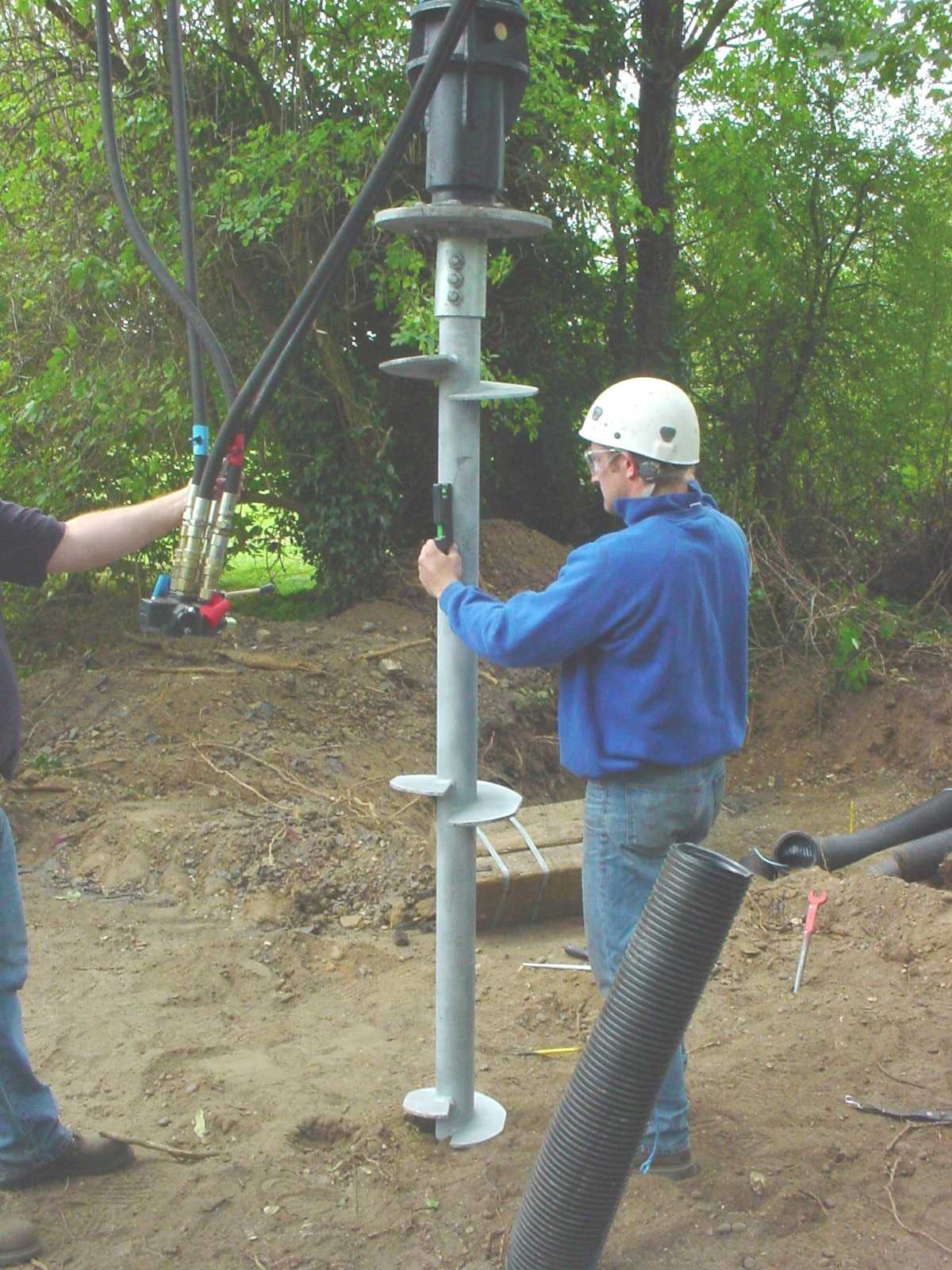 Helical Piles Screw Pile Foundations Or Helical Anchors
