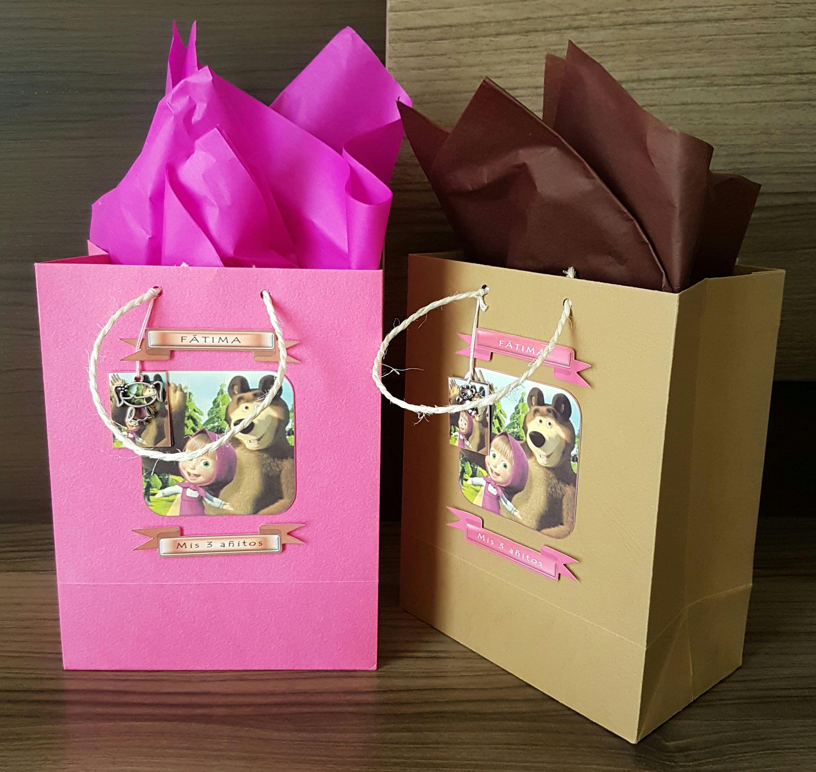 1a1d6fb5f Masha y el oso Invitaciones Para Fiestas Infantiles, Invitaciones De  Cumpleaños, Bolsas De Bolos