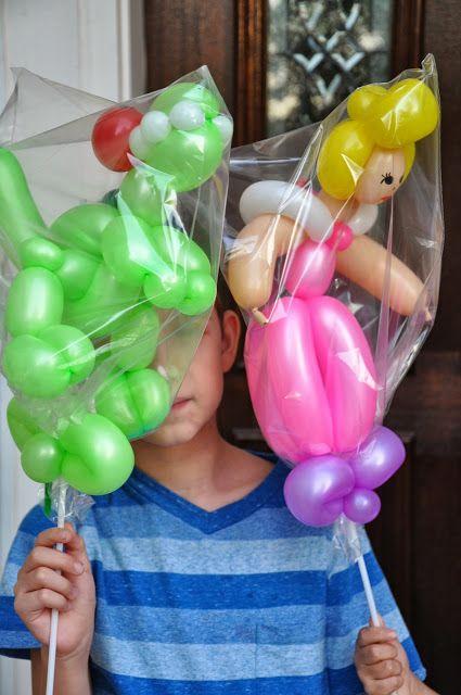 Figuras de globos BALLOON DECOR Pinterest