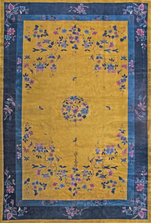211 Chinese Art Deco Carpet 12 0 X 17 6 Circa 1930 Rugs On Carpet Flying Carpet Affordable Carpet