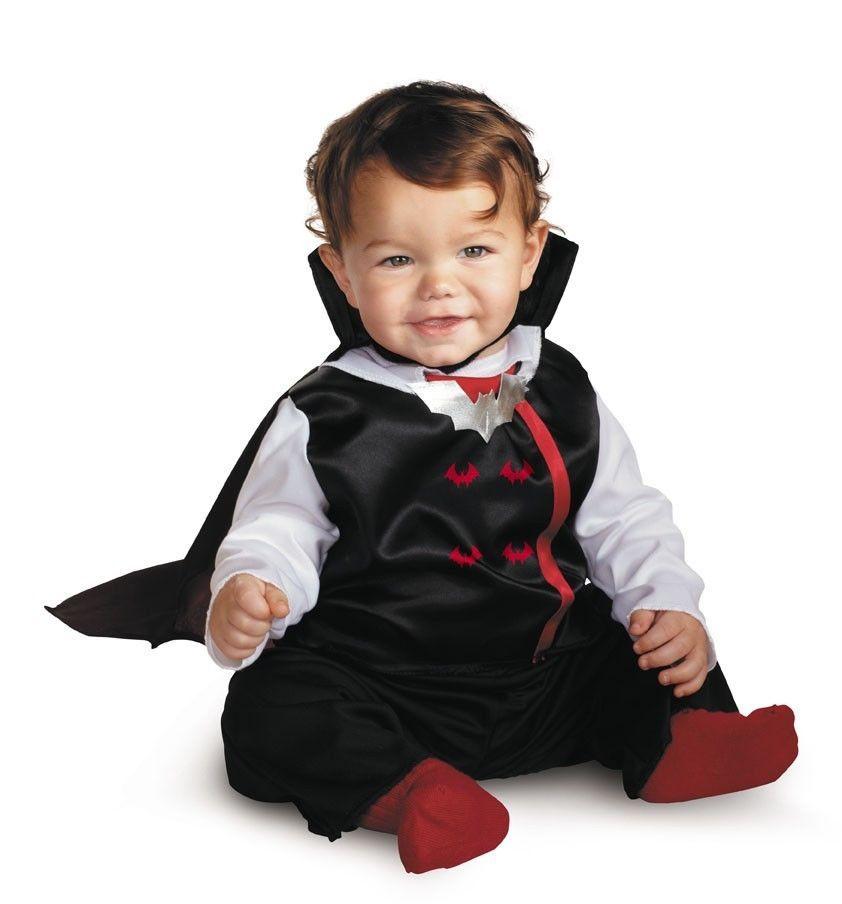 Vampire Costume Infant Toddler Kids Baby Boys Childs Halloween ...