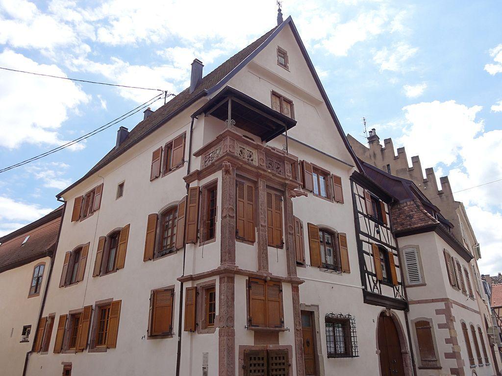 Sélestat, Maison Ziegler (XVIe-XVIIIe), 18 rue de Verdun.