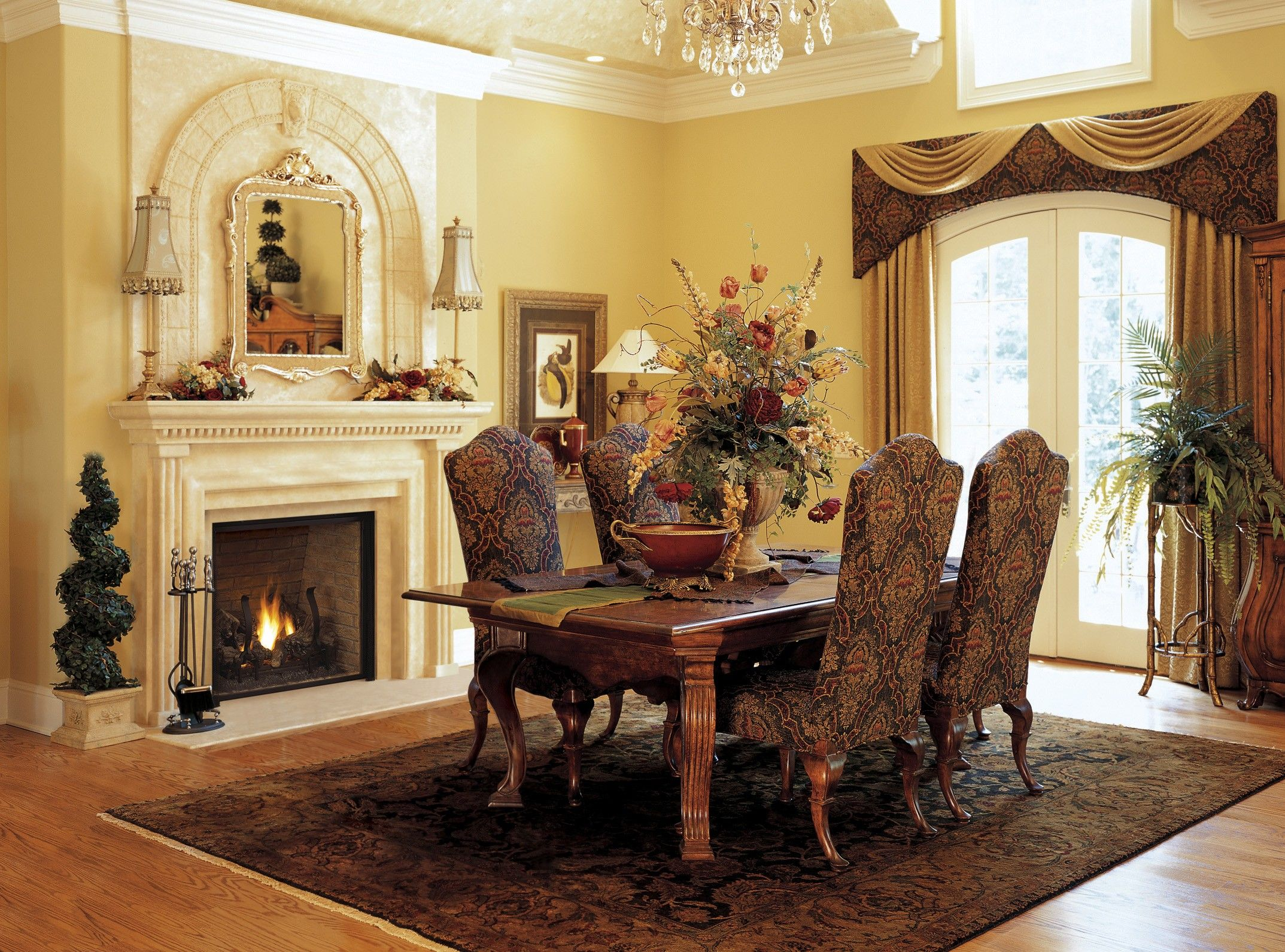 Formal Dining Room I Like The Table But I Want One With 8