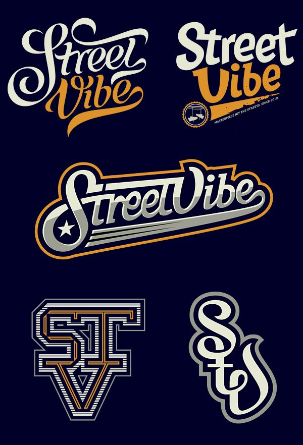 Street Vibe 2012 on Typography Served