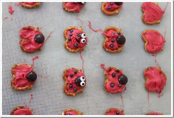 Ladybug Pretzels Recipe