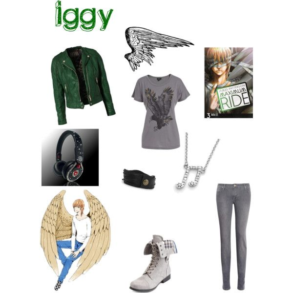 """""""Iggy!!!! (maximum ride character)"""" by viprose on Polyvore"""
