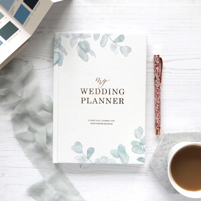 Luxury wedding planner book engagement gift for brides