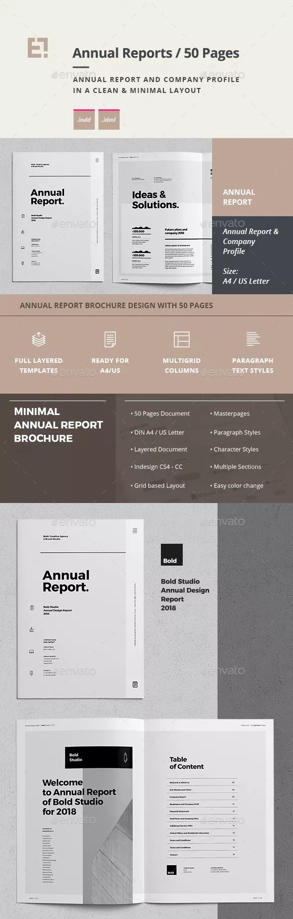 BOLD STUDIO Annual Report & Company Profile (50 pages) #annualreports